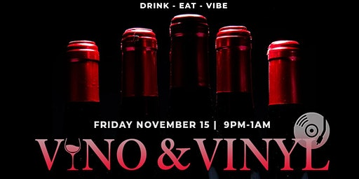 Vino & Vinyl - December 13th
