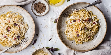 Handmade Spaghetti Carbonara - Cooking Class by Golden Apron™ tickets