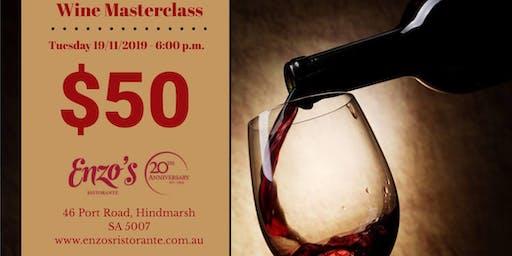 Wine Masterclass