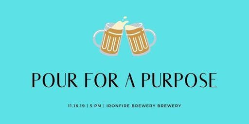 Pour For A Purpose- Ironfire Brewery