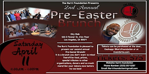 Hurtt Foundations 2nd Annual Pre-Easter Brunch