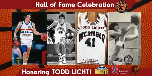 National Collegiate Basketball Hall of Fame Honoring TODD LICHTI