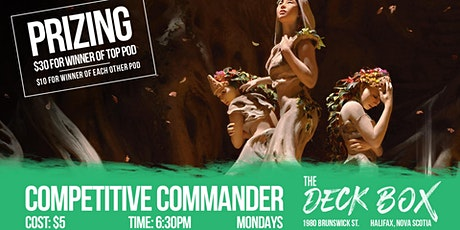 Competitive Commander tickets