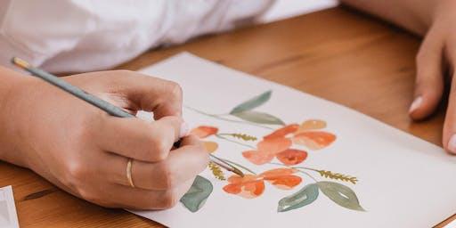 Watercolor Workshop with Artist Virginia Pierce