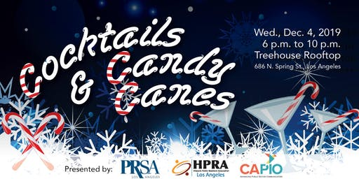 Cocktails & Candy Canes: A PRSA-LA, HPRA-LA, and CAPIO Holiday Party!