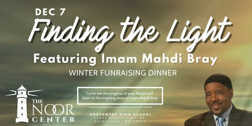 Finding The Light - The Noor Center's Winter Fundraising Dinner 2019