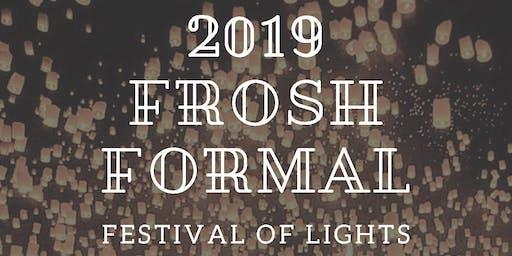 Frosh Formal 2019
