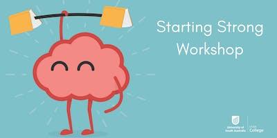 Starting Strong Workshop 2020 SP5