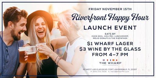 Riverfront Happy Hour Launch Event