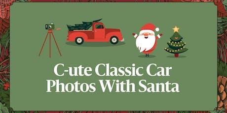 Sensory Photos with Santa tickets