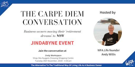 The Carpe Diem Conversation - Jindy Workspace, Jindabyne