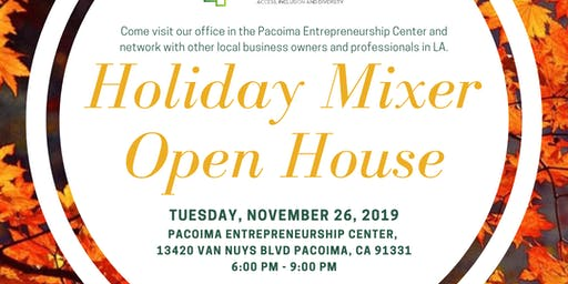 Holiday Mixer & Open House