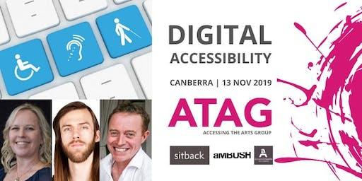 Digital Accessibility | ATAG Canberra 13 Nov