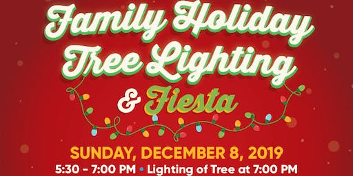 Family Holiday Tree Lighting & Fiesta