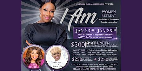 Le'Andria Johnson's I AM Women's Retreat tickets