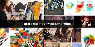JuRashki Girls Night Out with Art & Wine