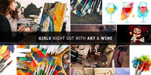 JuRashki Girls Night Out with Art & Wine