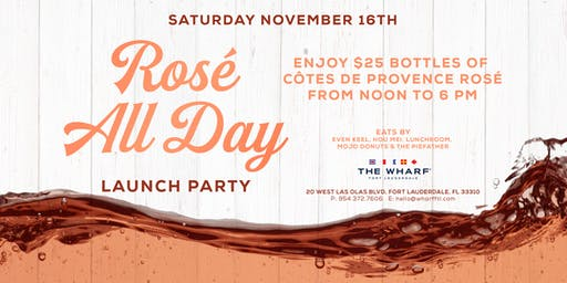 Rosé All Day Launch Party