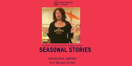 Stories for the season with Gill Di Stefano tickets