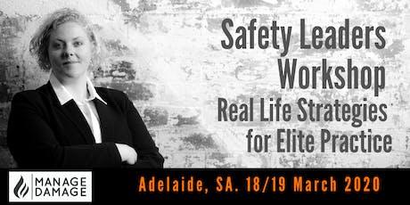 Safety Leader Workshop (Adelaide) tickets