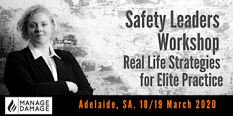 Safety Leader Workshop (Adelaide) tickets