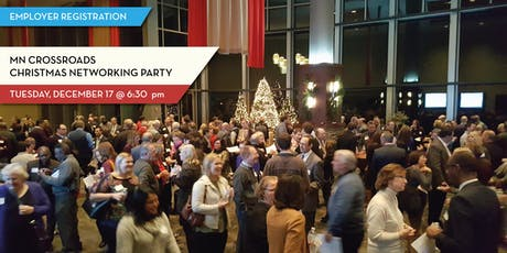 2019 Crossroads Christmas Networking Party - For Employer Volunteers tickets