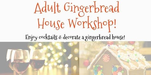 Tacky Gingerbread House Party with Blue Aces Bake Shoppe