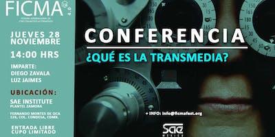 Conferencia ¿Qué es la transmedia?