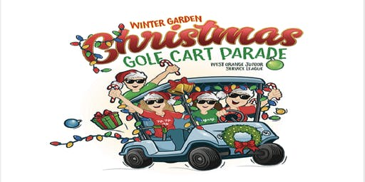 Winter Garden Christmas Golf Cart Parade 2019