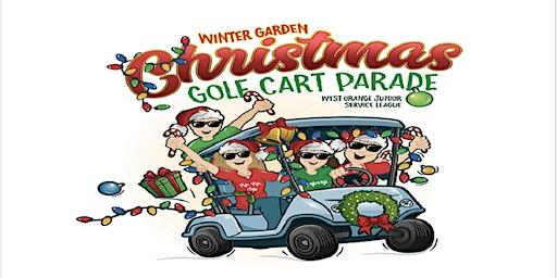 Winter Garden Christmas Golf Cart Parade 2019