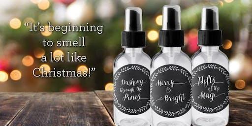 The 12 Sprays of Christmas Essential Oil Make & Take