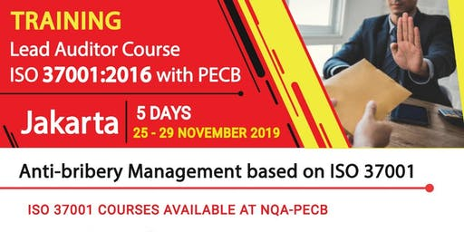 Lead Auditor Course ISO 37001:2016 - PECB Registered - IDR 13.990.000,-