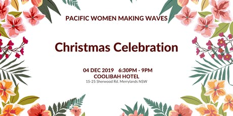 Pacific Women Making Waves Christmas Celebration tickets