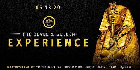The Black & Golden Experience tickets