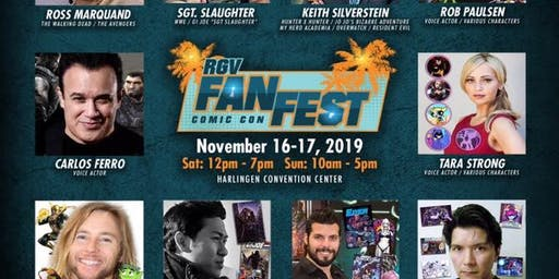 2019 RGVFanFest Comic Con Game Room Sponsored by The Flux and GameStop