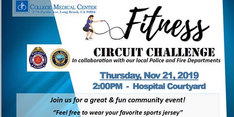 CMC's Thanksgiving : Fitness Circuit Challenge- Win a Turkey tickets