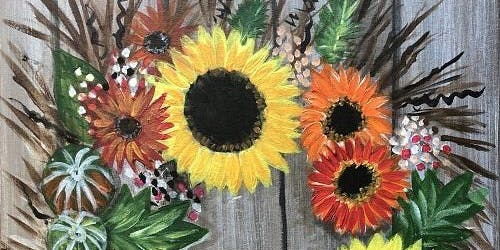 'Fall Wreath' Paint and Sip Event