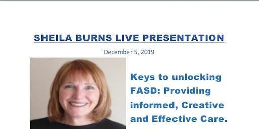 Sheila Burns Live Presentation