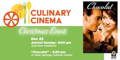 Culinary Cinema Christmas Event