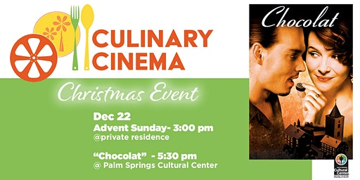 Culinary Cinema Christmas Event