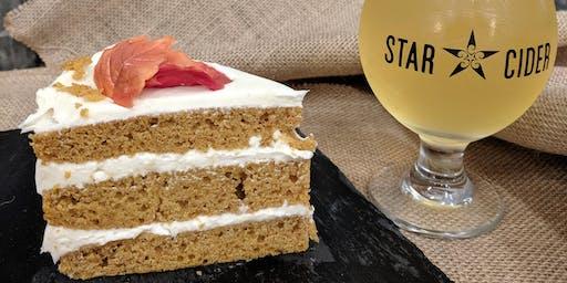 December Cake Night, Date Night at Star Cider! Gluten-Free Option