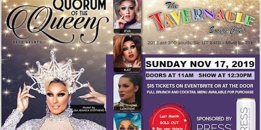 Quorum of the Queens Drag Brunch - Nov. 17, 2019