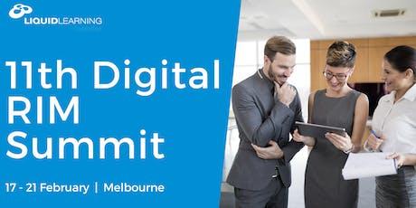11th Digital RIM Summit tickets