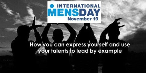 International Men's Day - How you can express yourself and use your talents