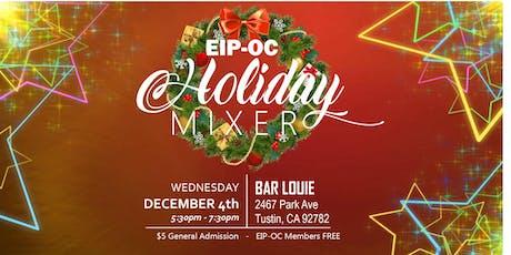 EIP-OC Holiday Mixer tickets
