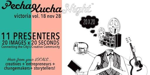 PechaKucha Night Victoria VOL. 18