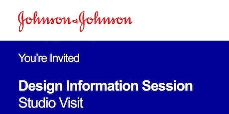 Johnson & Johnson Design Site Visit Fall 2019 tickets