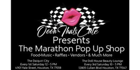 Marathon Pop Up Shop tickets