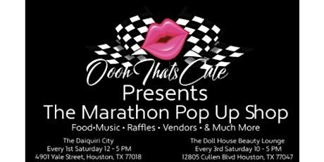 Marathon Pop Up Shop biglietti