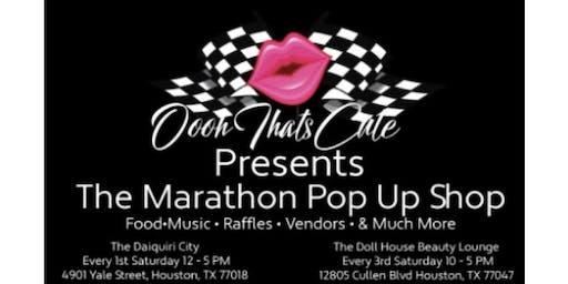 Marathon Pop Up Shop